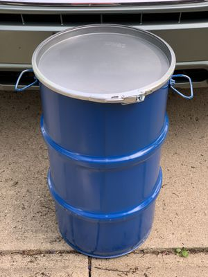 Steel drum/can with water tight lid for Sale in Olmsted Falls, OH