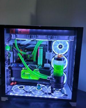 Gaming PC - I9 9900kf 5.0Hz - RTX 2080ti - Water cooling system for Sale in Atlanta, GA
