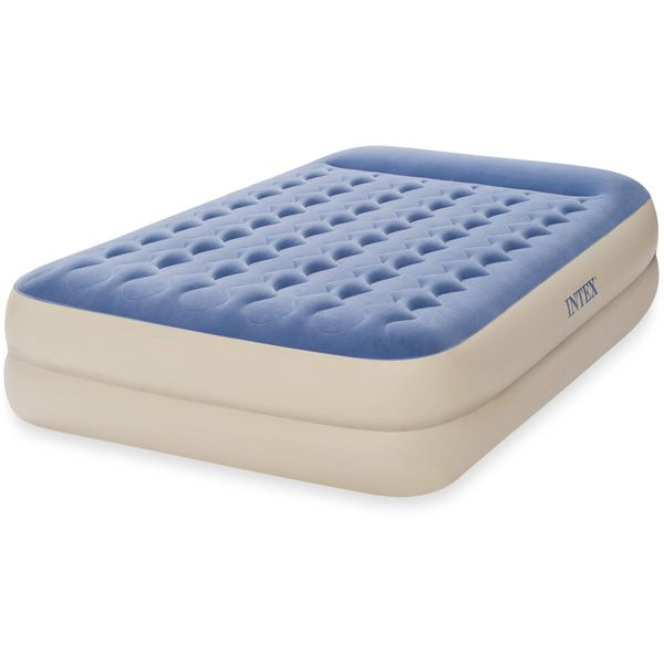 Super Comfortable Extra Thick Queen Air Mattress Durable Guest Room Camping