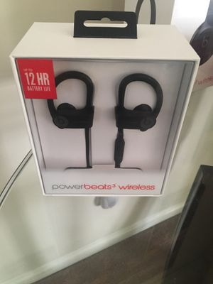 Powerbeats wireless brand new in box for Sale in Chesapeake, VA
