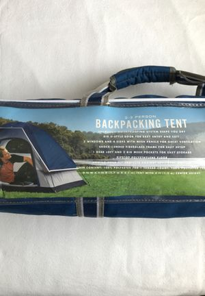 Greatland Backpacking Tent for Sale in Alsip, IL