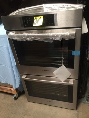 "New double oven convection Bosch 800 series stainless steel 30"" for Sale in El Monte, CA"
