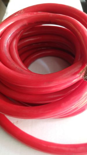 High Performance power cable for stereo system 1/0 Gauge for Sale in Queens, NY