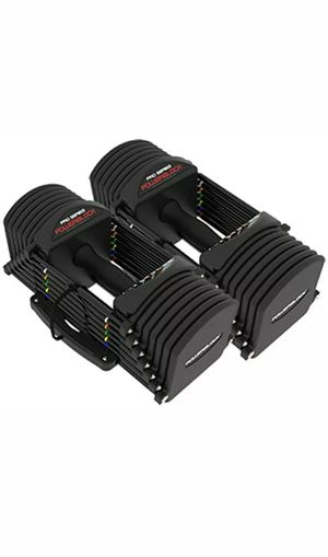 **NEW 2020 MODEL** POWERBLOCK PRO Commercial Adjustable Dumbbells (Pair) for Sale in Seattle, WA