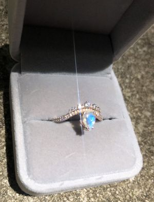 Vintage Rainbow Moonstone Rose Gold Ring for Sale in Palm Harbor, FL