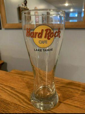 Hard Rock Cafe Pilsner Glass Lake Tahoe for Sale in Santa Fe Springs, CA