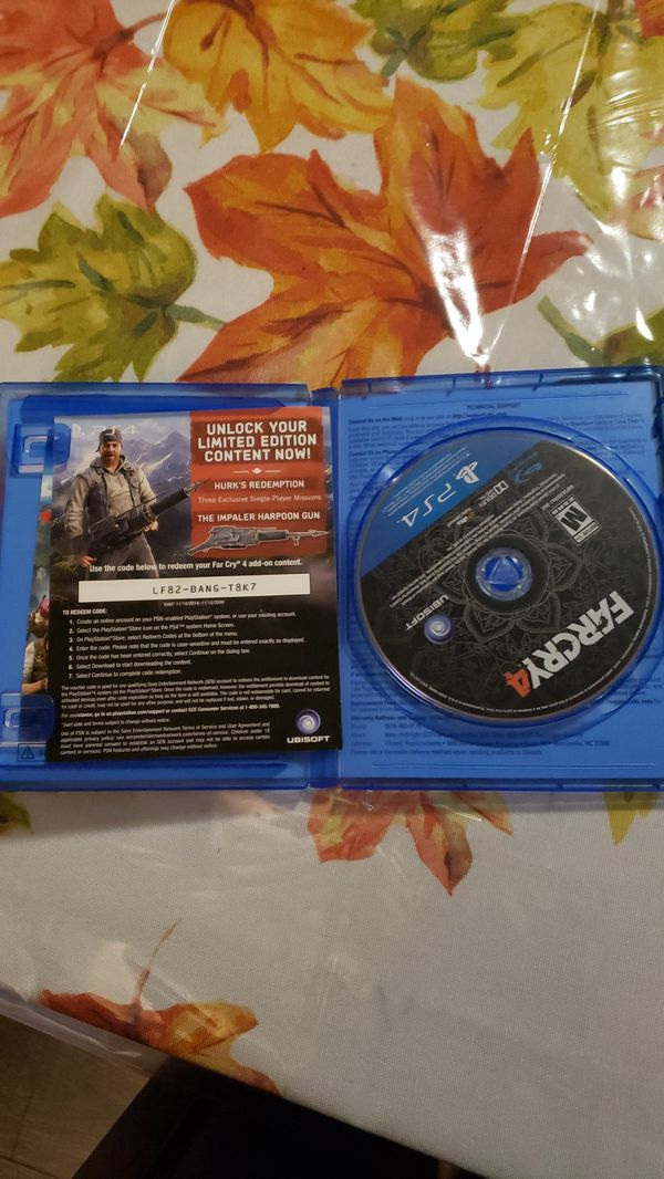 far cry 4 and far cry primal for ps4