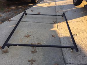 Twin or full or queen heavy duty bed frame for Sale in Fayetteville, NC