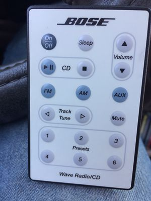 BOSE WAVE CD RADIO REMOTE CONTROL for Sale in National City, CA