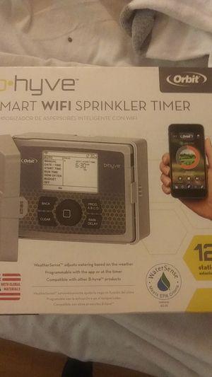 B-Hyve Wi-Fi sprinkler timer for Sale in Covina, CA