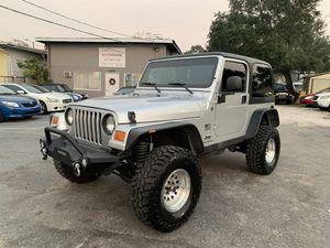 2004 Jeep Wrangler for Sale in Tampa, FL