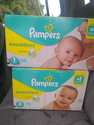 PAMPERS SWADDLERS for Sale in Kissimmee, FL