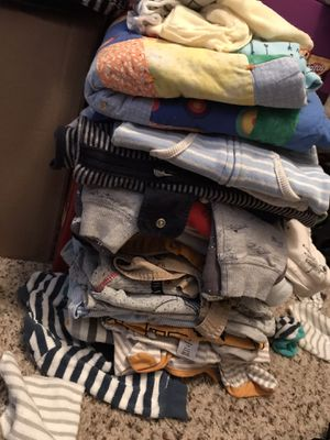 Baby Cloths Size 3 To 9 Months ($25) Pick Up Only Mesa Baseline & Stapley 85204 for Sale in Gilbert, AZ