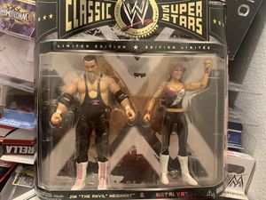"WWE Classic Superstars Jim ""The Anvil"" Neidhart and Natalya Action Figures for Sale in Milpitas, CA"