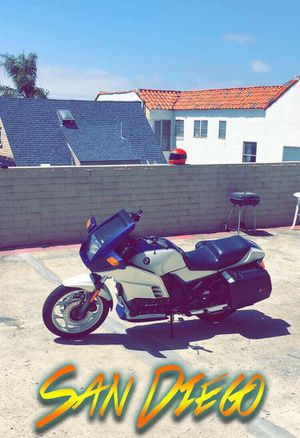 1989 BMW Motorcycle K100RS in excellent condition for Sale in Dallas, TX