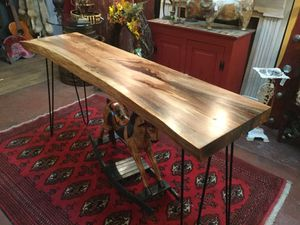 Custom made spalted maple live edge table for Sale in Lakeland, FL