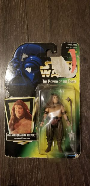 Malakili (Rancor keeper) Starwars collectible toy for Sale in Orlando, FL