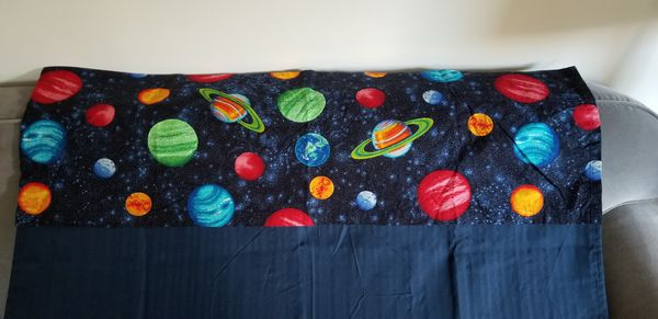 Blackout drapes and planets valence