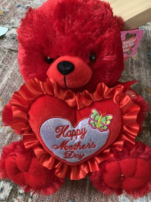 NEW 12 Inch Mother's Day Teddy Bear Gift WITH SOUND for Sale in Silver Spring, MD