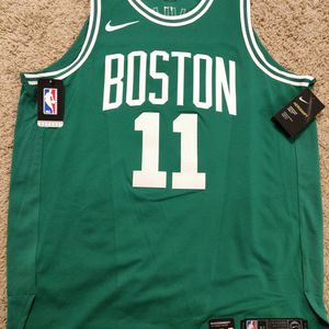 Nike Authentic Boston Celtics Kyrie Irving Road Green White Aeroswift Jersey Size XL Extra Large 52 for Sale in Los Angeles, CA