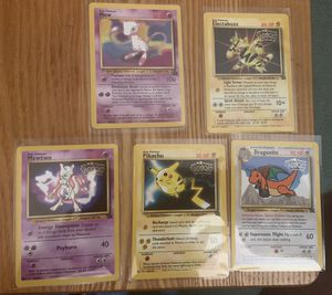 Pokemom 1st movie promo cards for Sale in La Verne, CA
