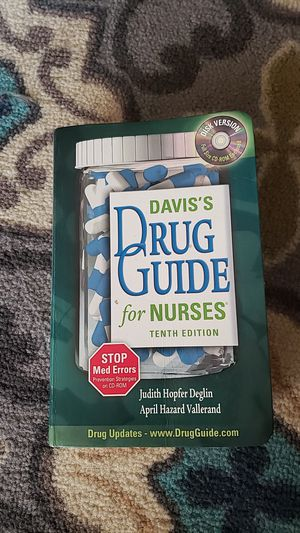 Davis Drug Guide 10th edition for Sale in Phoenix, AZ