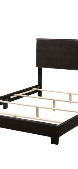 Brand New Queen Bed Frame Espresso (box Spring Needed) for Sale in Ontario,  CA