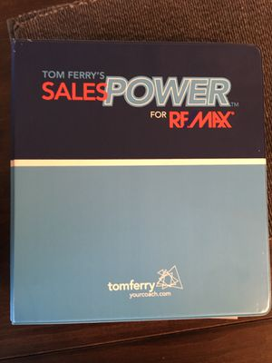 Tom Ferry's Sales Power Course - Notebook for Sale in Tulsa, OK