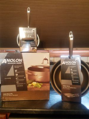 New in box KITCHEN POTS AND PAN SET for Sale in Delhi charter Township, MI