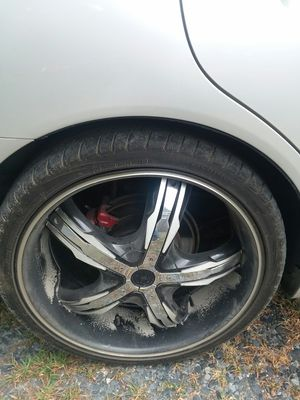 """20"""" wheels with tires for Sale in Pamplin, VA"""
