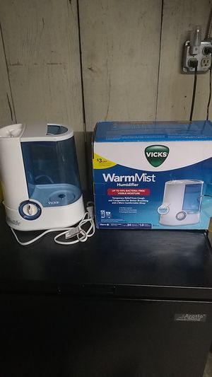 Vicks brand Warm Mist humidifier for Sale in White Haven, PA