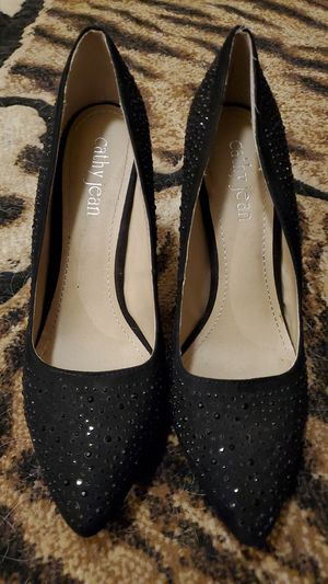 "Black 4"" heels Cathy Jean Brand for Sale in Kingsburg, CA"