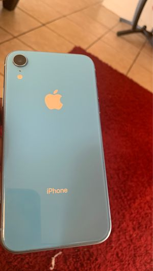 blue iphone XR for Sale in Wahneta, FL