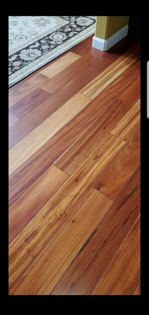 Exotic Tigerwood Hardwood floor for Sale in Tacoma, WA