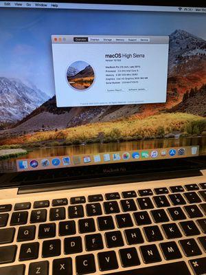MacBook Pro 2.4Ghz Intel Core i5 for Sale in Pico Rivera, CA