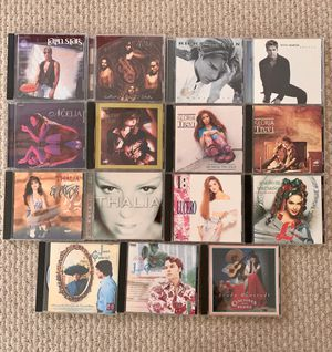 Spanish Music CDs 💿 (15 total) for Sale in Santa Monica, CA