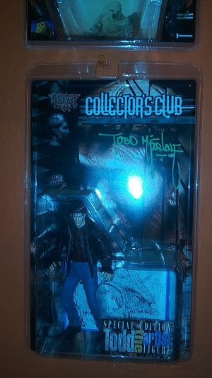 McFarlane Toys Todd McFarlane Autographed Club Exclusive Action Figure for Sale in South San Francisco, CA