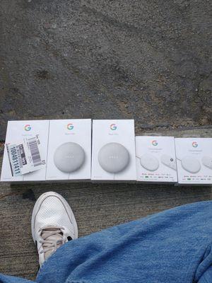 Google nest mini and google chromecast for Sale in Temecula, CA