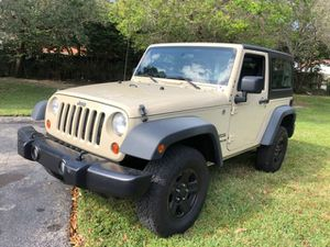 2012 jeep wrangler 4wd freedom edición suv as for Sale in Miramar, FL