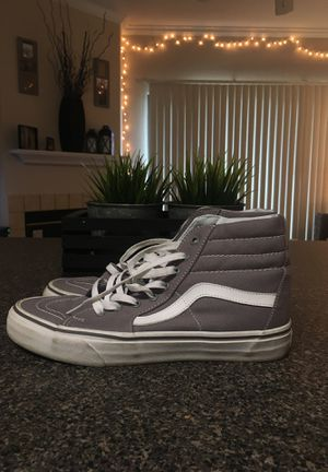 Men's Vans Grey Size 9 for Sale in Aurora, CO