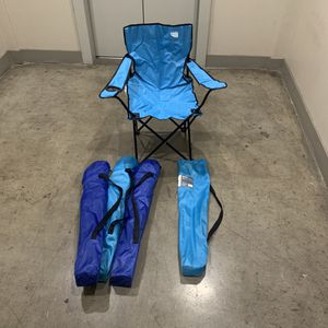 Collapsable Lawn Chairs- Set of 4 for Sale in Plano, TX