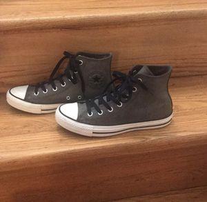 Leather Converse unisex-size 8 women, 6 men for Sale in McLean, VA