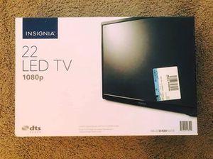 """Insignia 22"""" 1080p TV for Sale in Newport News, VA"""