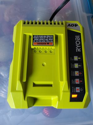 Ryobi 40v charger for Sale in San Diego, CA