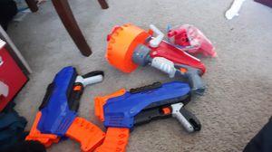 3 nerf guns 2 eliete 1 mega and bullets for Sale in Oceanside, CA