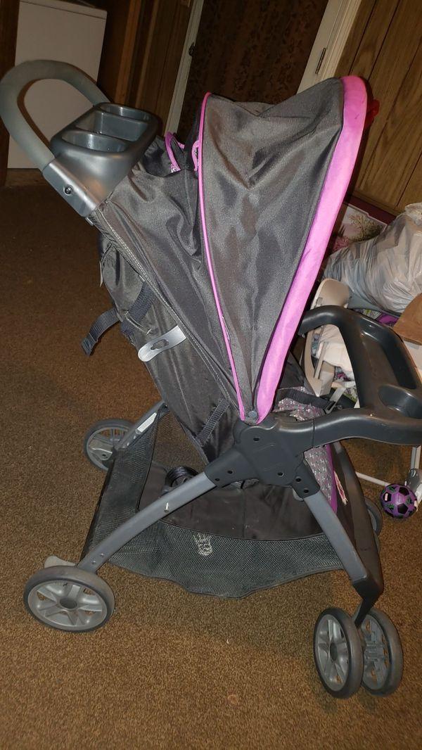 Girl stroller