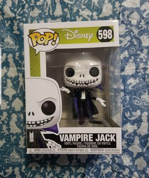 Disney Nightmare Before Christmas Vampire Jack 598 Funko Pop for Sale in The Bronx, NY