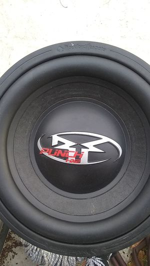"Excellent condition Rockford fosgate hx2 12"" for Sale in Fontana, CA"