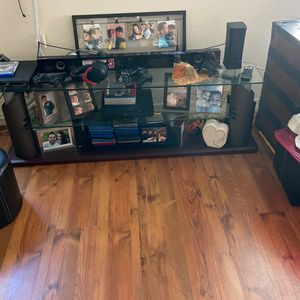 Glass Tv Stand for Sale in Ocoee, FL