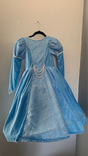 Girls Princess Ball Gown Costume size 6x for Sale in Phoenix, AZ